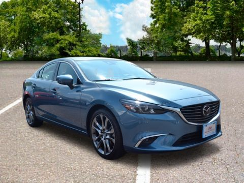 Certified Pre-Owned 2017 Mazda6 Grand Touring grand touring